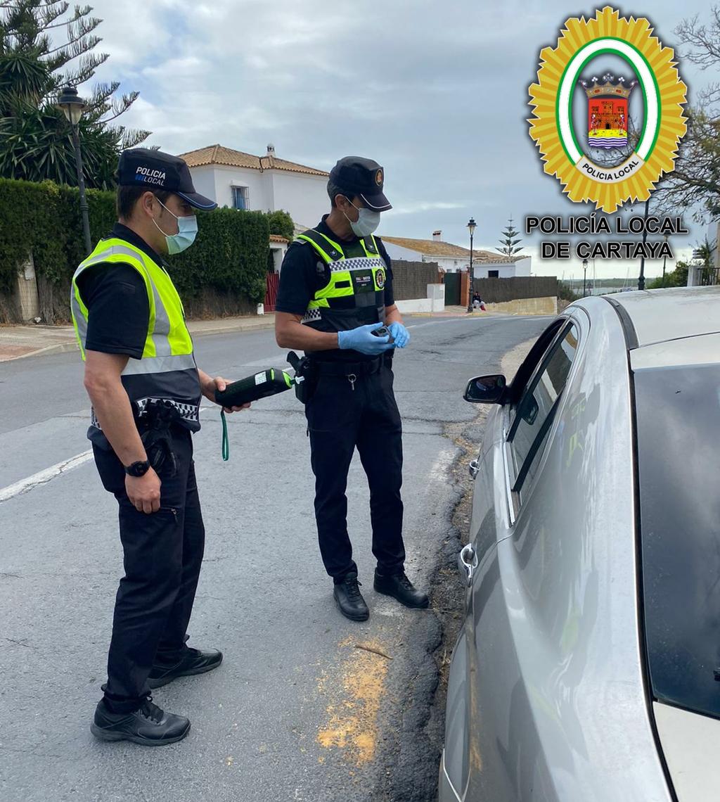La Policía Local interpone 84 actas de denuncia por incumplimientos de la normativa COVID-19 en Semana Santa