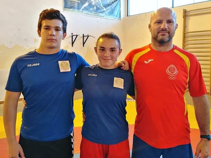 Dos deportistas cartayeros participan en los Juegos Mundiales de los Escolares, en Budapest.