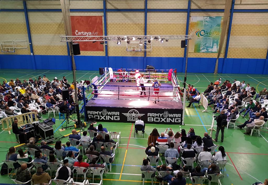 Cartaya acogió el pasado fin de semana la I velada de boxeo olímpico