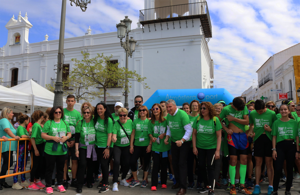 Cartaya celebra la III Marcha solidaria contra el cáncer