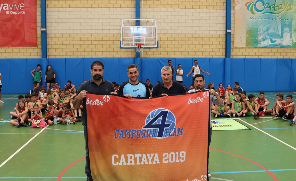 Éxito de participación en el IV de Baloncesto de Cartaya.