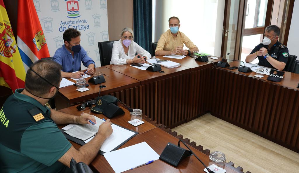 La Comisión de Seguridad del COVID-19 acuerda la suspensión de las Fiestas de El Rompido y la Feria de Cartaya