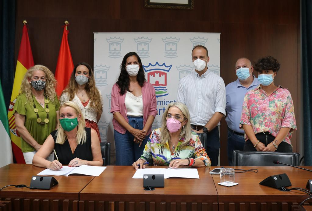 El Ayuntamiento de Cartaya se suma a la Red Andaluza de Entidades Conciliadoras para la promoción de la igualdad