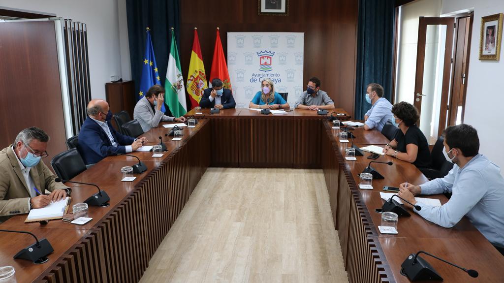 El Ayuntamiento traslada a la Agencia Pública de Puertos las necesidades del puerto de El Rompido